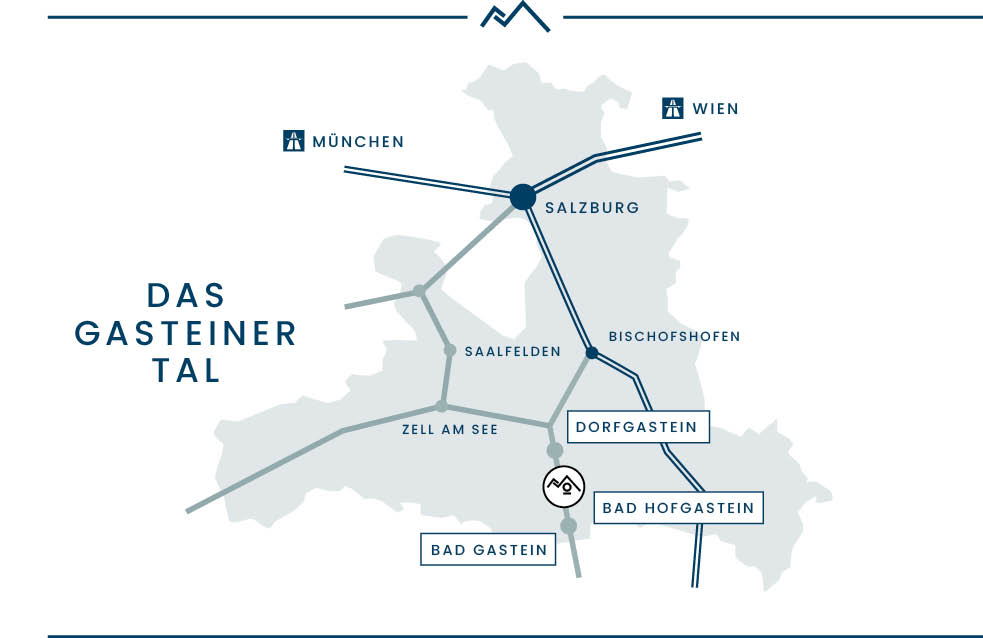 Map Gasteinertal