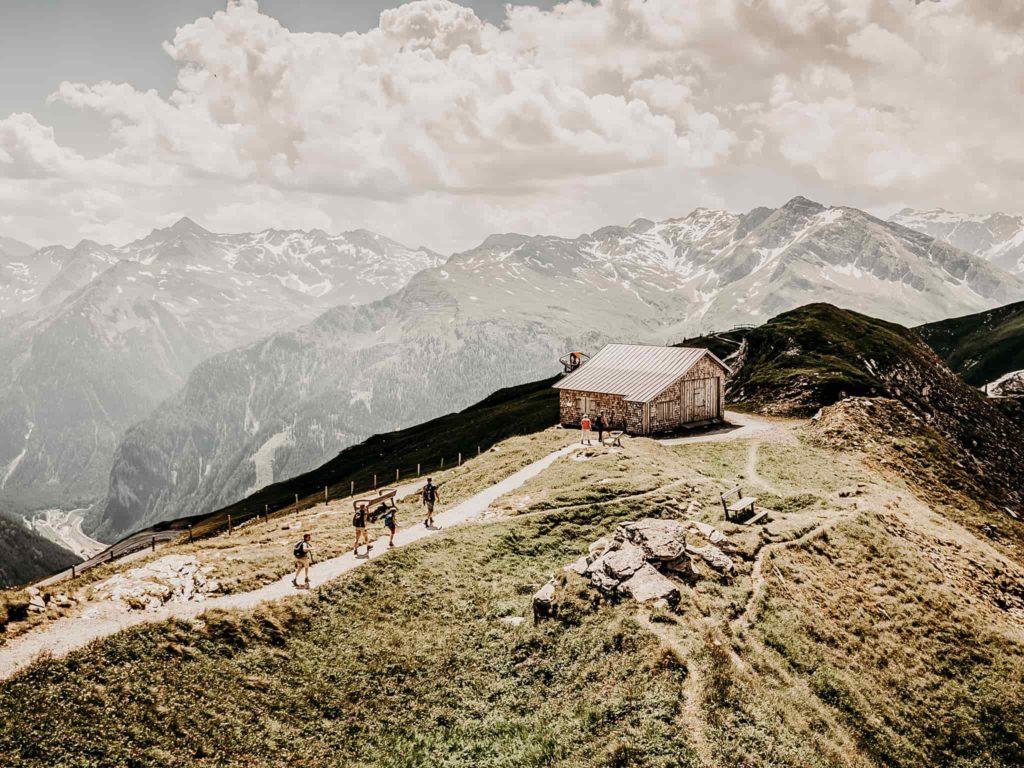 Hütte am Stubnerkogel Gasteinertal