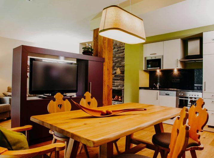 Essbereich Apartment Ankogel Hotel Sendlhofer's Bad Hofgastein