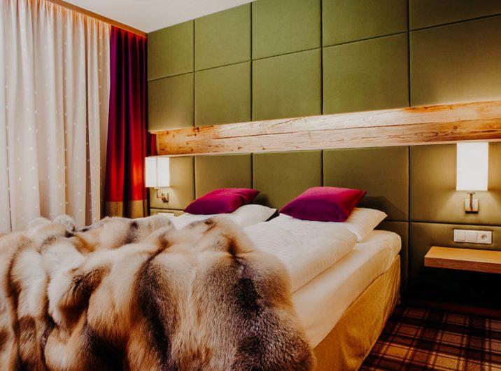 Schlafzimmer Apartment Graukogel Hotel Sendlhofer's Bad Hofgastein