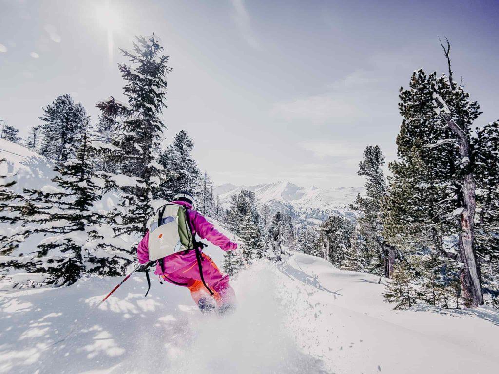 Skifahren Winter Gasteinertal