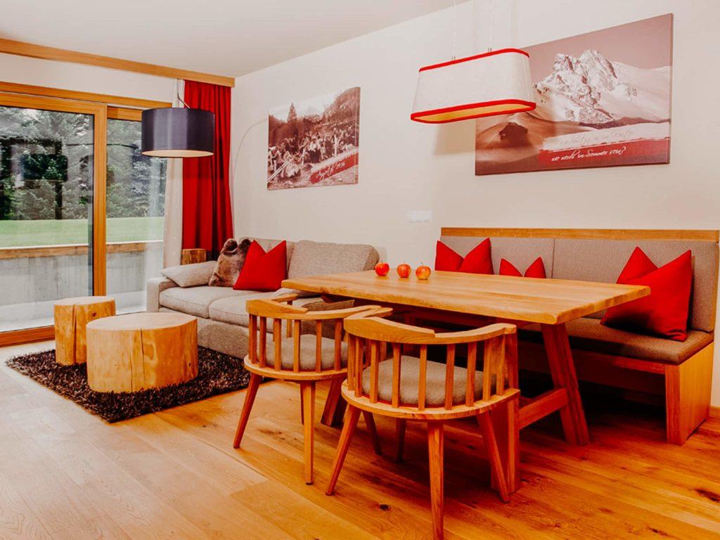 Essbereich Apartment Angertal Hotel Sendlhofer's Bad Hofgastein