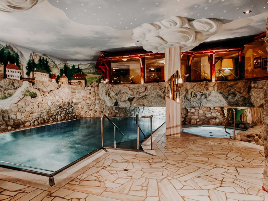 Indoor Pool Hotel Sendlhofer's Bad Hofgastein