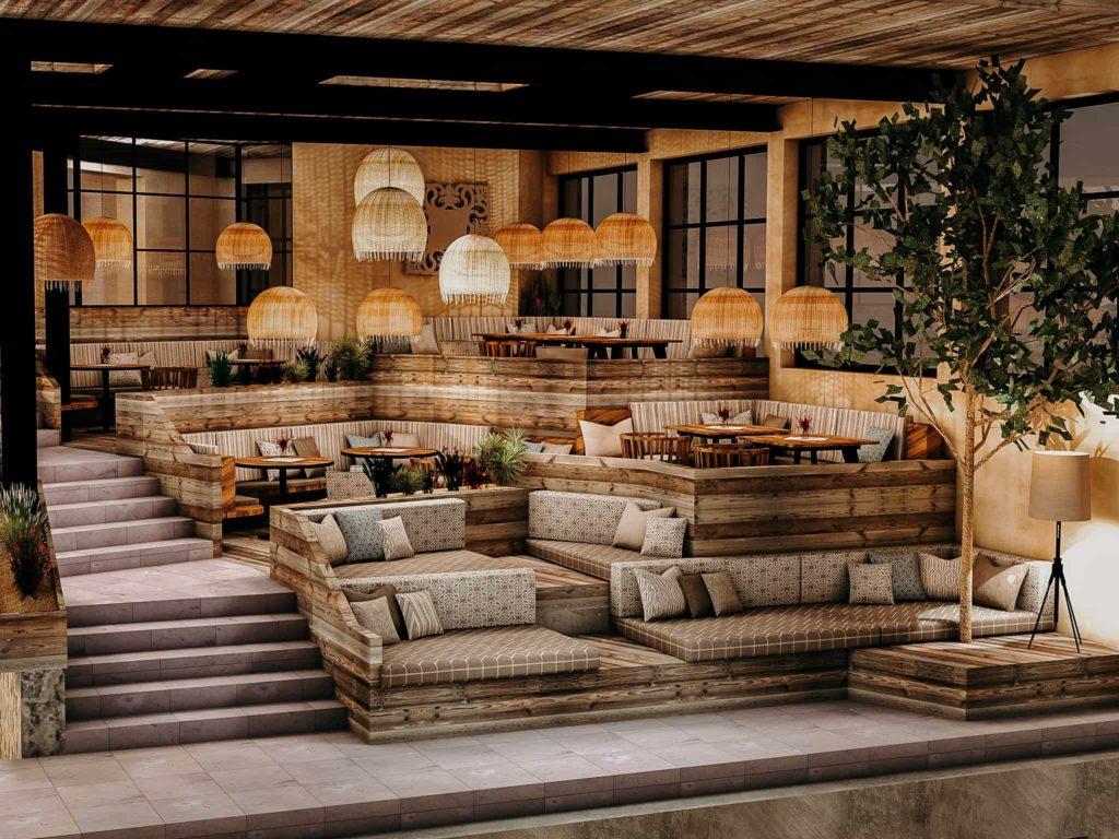 Visualisierung Luke's Wohnzimmer Hotel Sendlhofer's BadHofgastein