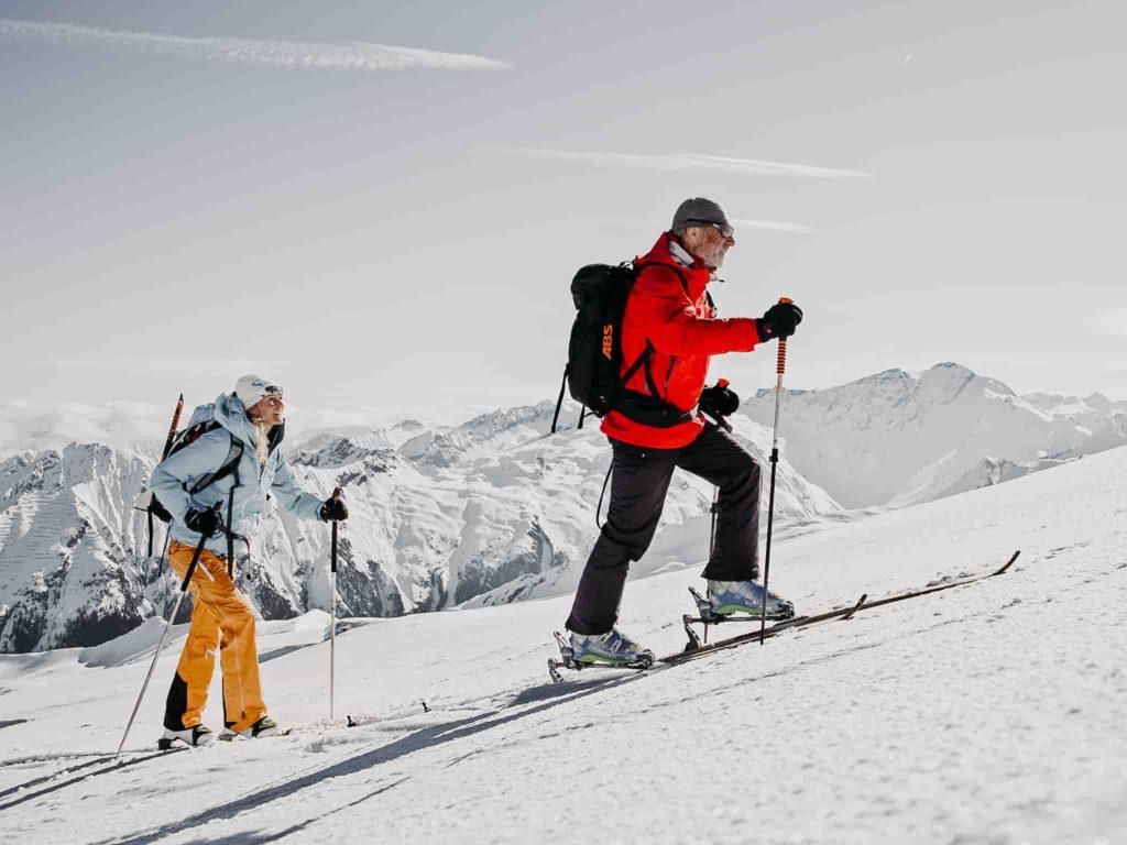 Skibergsteigen Winter Gasteinertal
