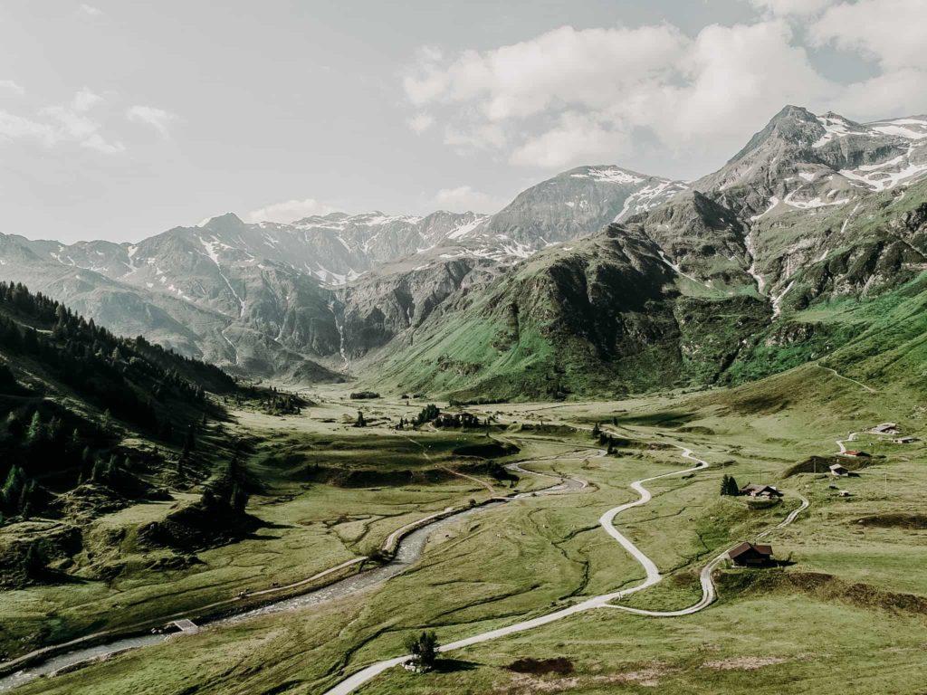 Berglandschaft von Sportgastein im Gasteinertal