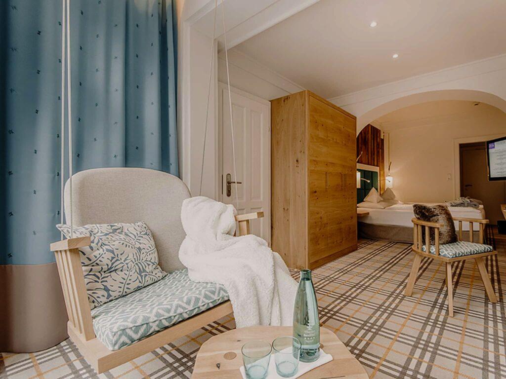 Schlafzimmer Cozy Hotel Sendlhofer's Bad Hofgastein