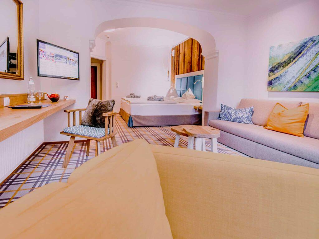 Schlafzimmer Relax Hotel Sendlhofer's Bad Hofgastein
