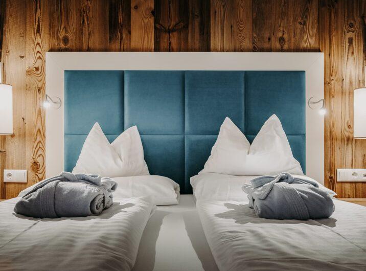 Bett Schlafzimmer Cozy Hotel Sendlhofer's Bad Hofgastein