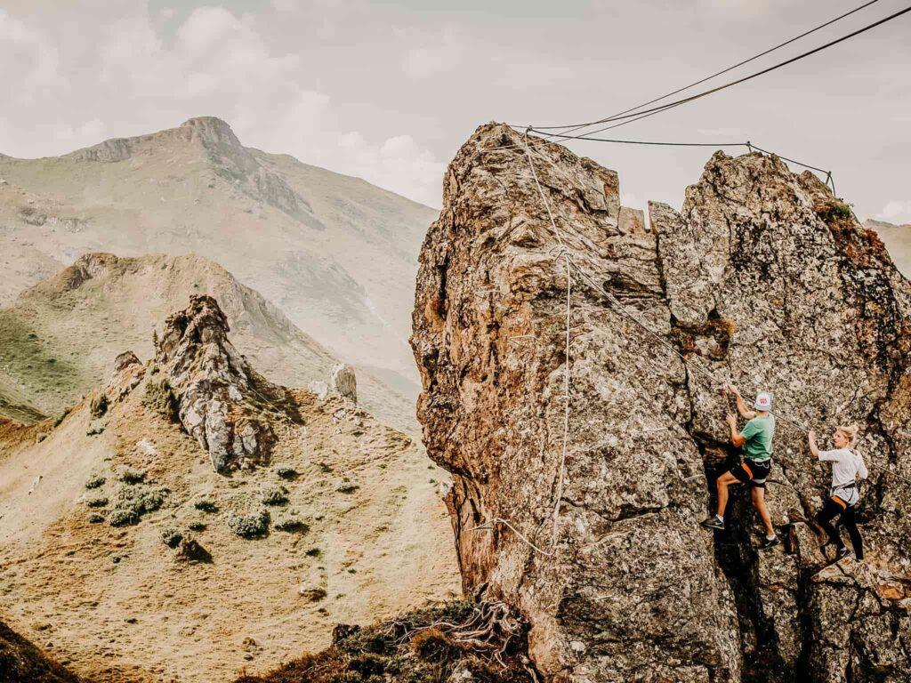 Klettern im Gasteinertal