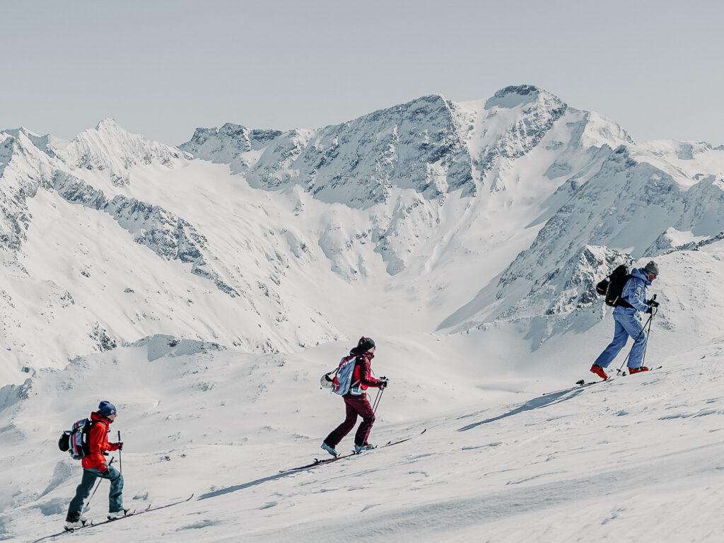 Skitouren gehen im Gasteinertal