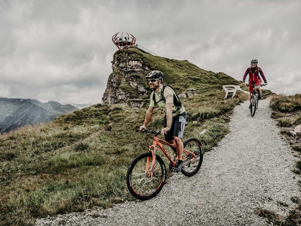 Mountainbiken in Gastein