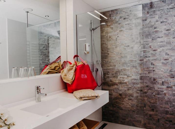 Badezimmer Apartments Hotel Sendhofer's Bad Hofgastein