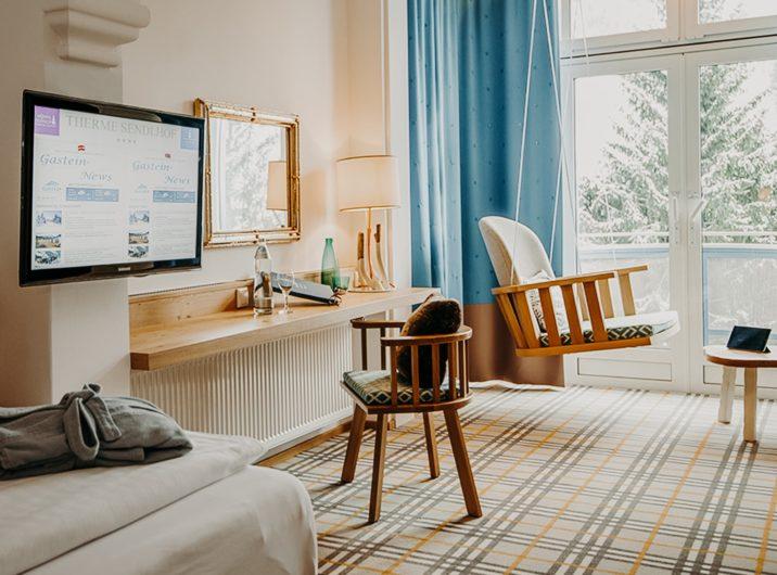 Schlafzimmer Single Hotel Sendlhofer's Bad Hofgastein
