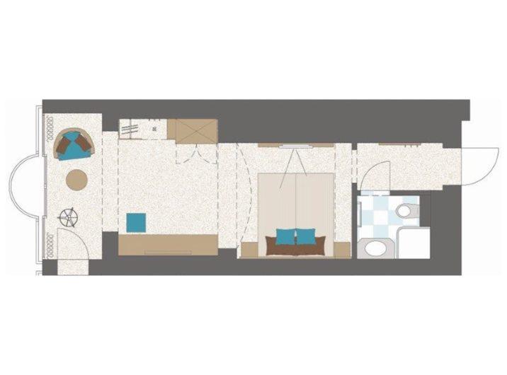 Grundriss Schlafzimmer Spacious Hotel Sendlhofer's Bad Hofgastein