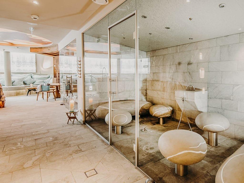 Alpin-Spa Saunabereich Hotel Sendlhofer's Bad Hofgastein