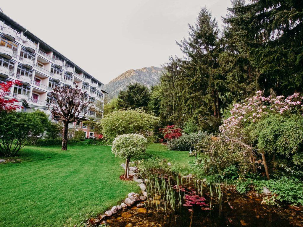 Garten des Hotel Sendlhofer's Bad Hofgastein