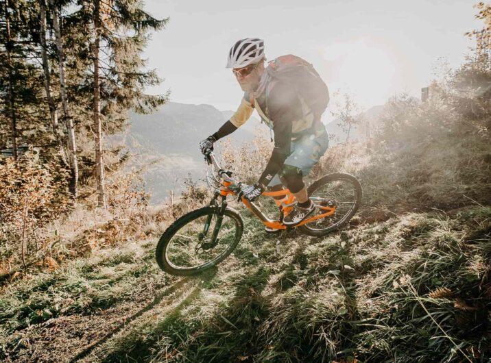 Mountainbiker-Gasteinertal-Natur-Tourismus
