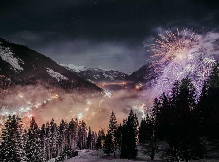 Feuerwerk Winter in Bad Hofgastein